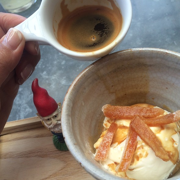 Affogato @ Bartavelle Coffee and Wine Bar