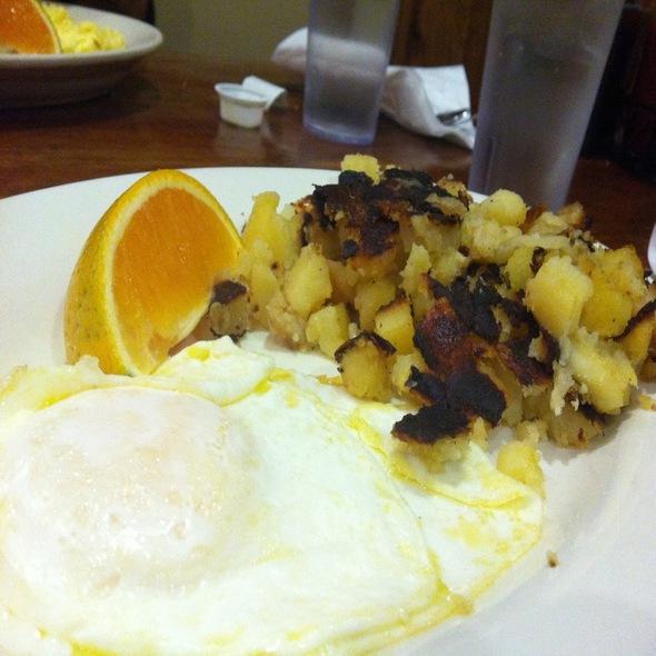 potatoes @ Clarke's Diner