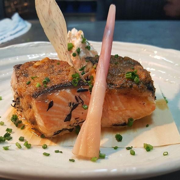 Salmon Thai Herb Butter @ Nirvana Kitchen