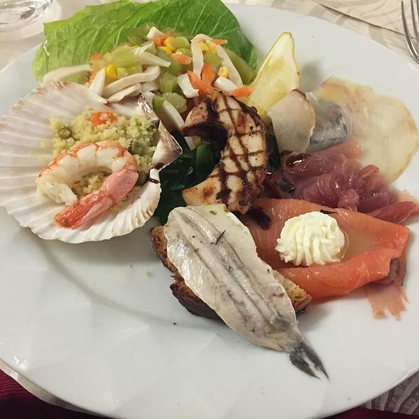 Seafood-fish starter @ Il Galielo