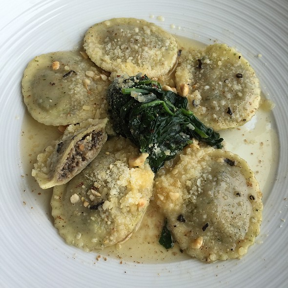 Wild Mushroom Ravioli @ C Restaurant & Bar