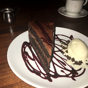 Chocolate Cake - Oak Steakhouse