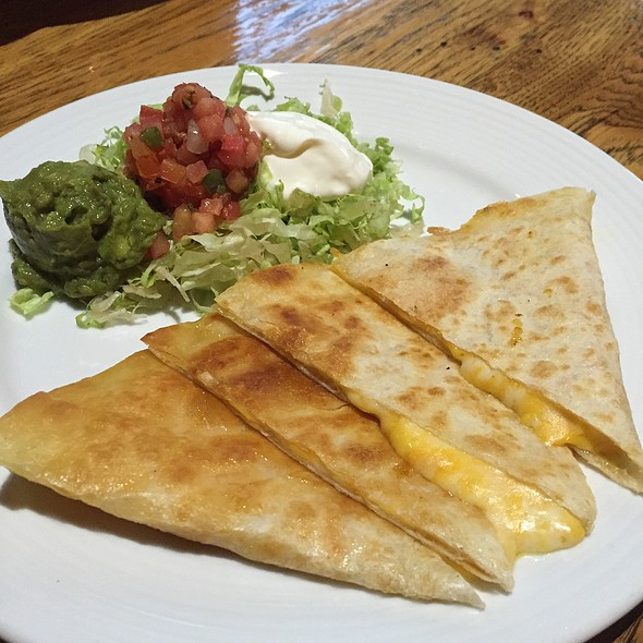 Cheese Quesadilla - Jackalope Ranch, Indio, CA