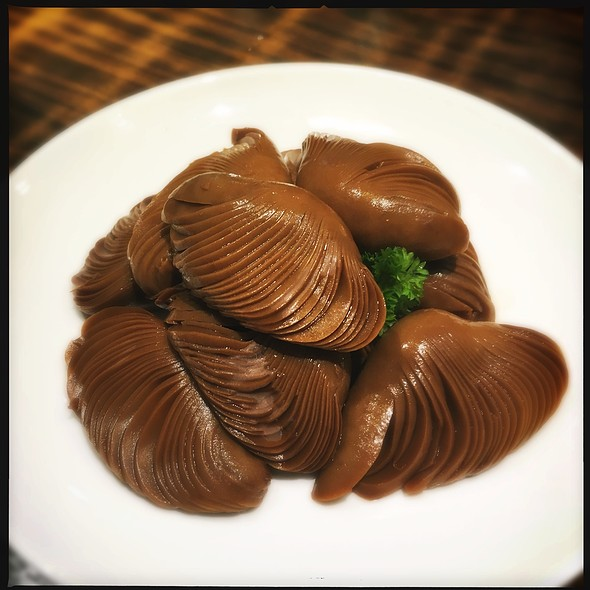 Cold Stewed Mushrooms @ Empire City Roasted Duck 大都烤鴨