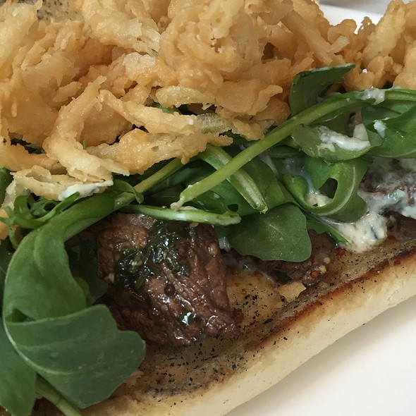 Steak Sandwich @ Atwood