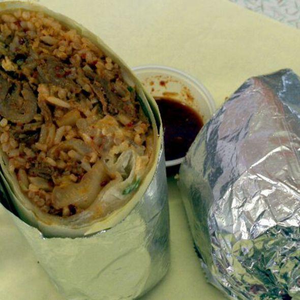 Kimchi Burrito @ HRD Coffee Shop