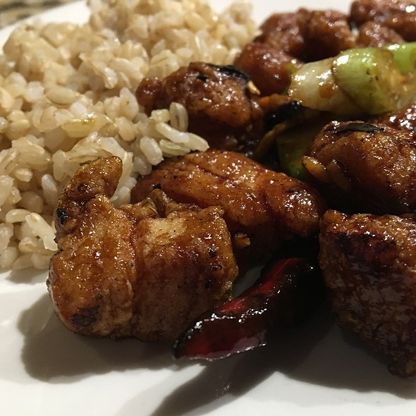 King Ao Chicken With Brown Rice @ P. F. Chang's