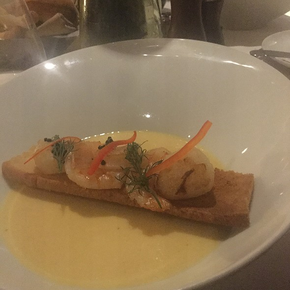 Seafood Velout @ Coastal Kitchen- Anthem Of The Seas