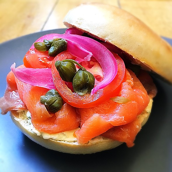 Bagels And Lox @ Toby's Estate