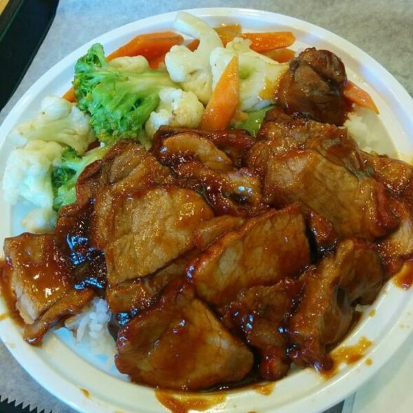 BBQ Pork Rice Bowl @ Koko Bakery