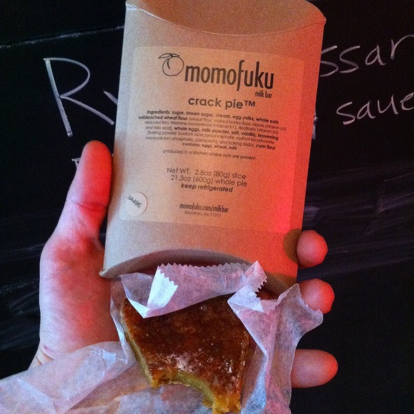 momofuku crack pie recipe milk bar new york