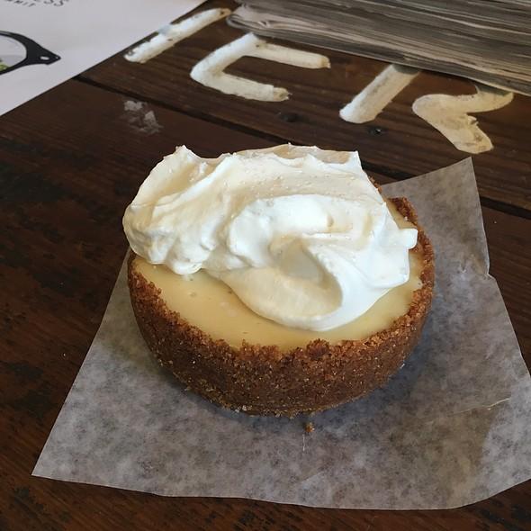 Mini Key Lime Pie @ WildFlour Pastry