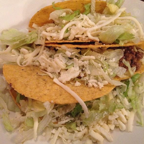 Crispy Beef Tacos @ Las Fajitas