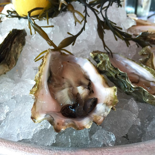 Crystal Point Oysters - TAPS Fish House & Brewery, Brea, CA