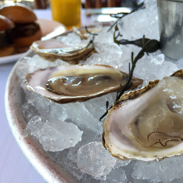 Sunset Beach Oysters - TAPS Fish House & Brewery, Brea, CA