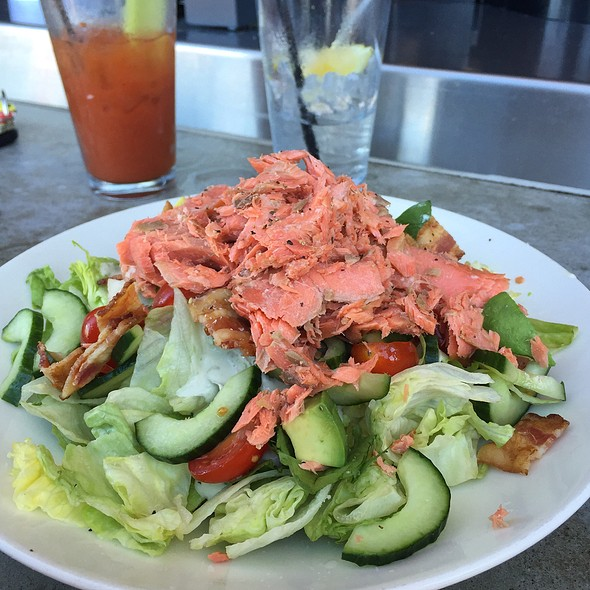 Smoked Salmon BLT Salad at Wildfin American Grill