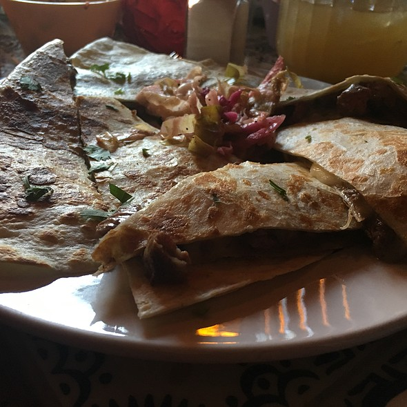 Steak Quesadilla @ Velvet Cantina