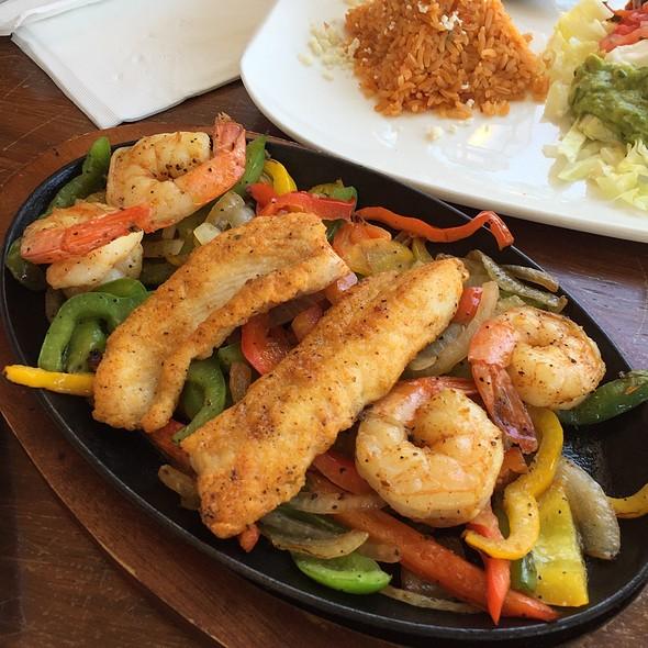 Fish And Shrimp Fajita @ Los Agaves Restaurant