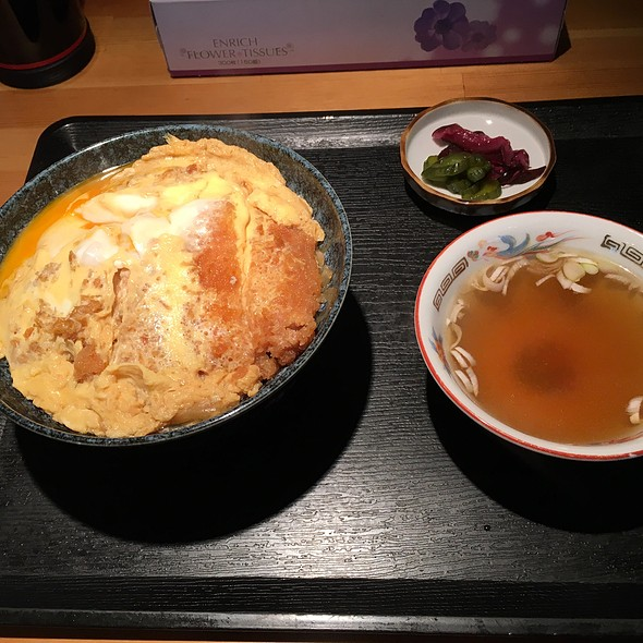 カツ丼 @ 櫻井食堂