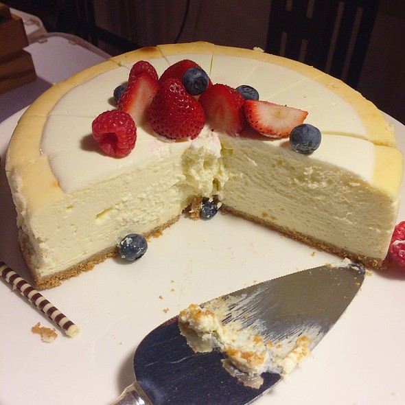 American Cheesecake @ The American Club