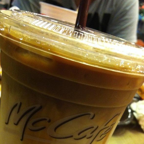 Iced Caramel Macchiato @ McDonald's