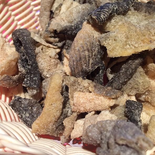 炸魚皮 Fried Fish Skin @ The Tonno