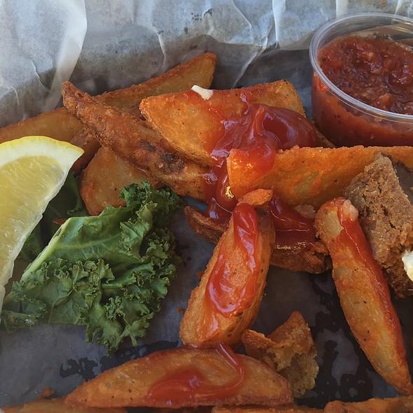 Shrimp & Fries @ Aunt Kates Llc