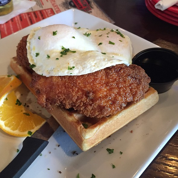 Chicken and Waffles @ Coach's Corner