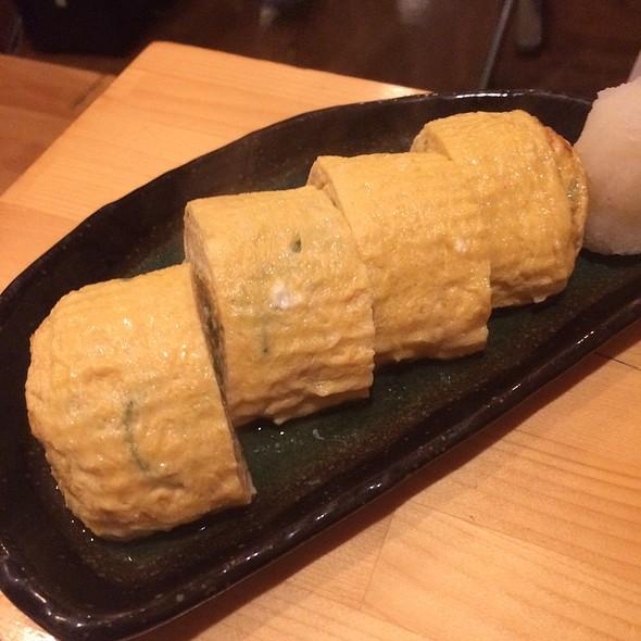 Green Chili Tamagoyaki @ 学大角打 (Gakudaikakuuchi)