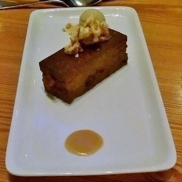 Chocolate cake with kettle corn ice cream - Bliss Restaurant, San Antonio, TX