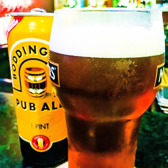 Boddingtons Pub Ale @ John Martins Restaurant