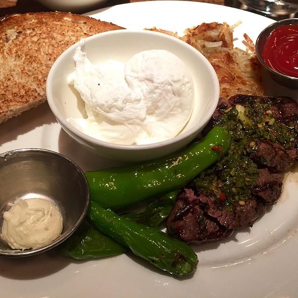 Chimichurri Steak And Eggs @ Restaurant Beatrix