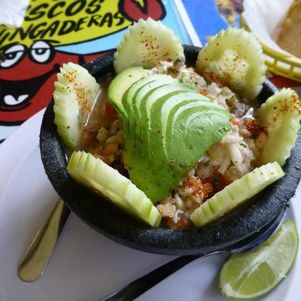 Ceviche de Pescado @ El Bucanero Restaurant