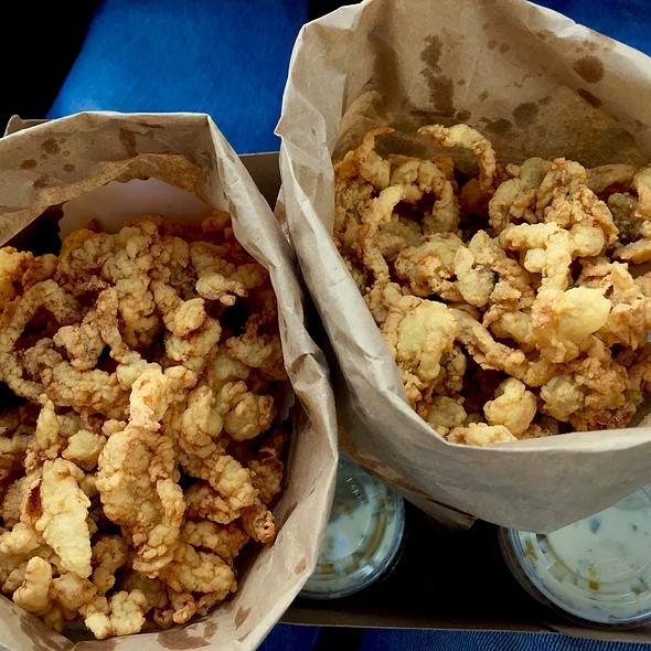 Fried Clams @ Clam Box of Ipswich