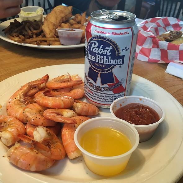 Steamed Shrimp In Pbr @ Gaffer's Sports Pub