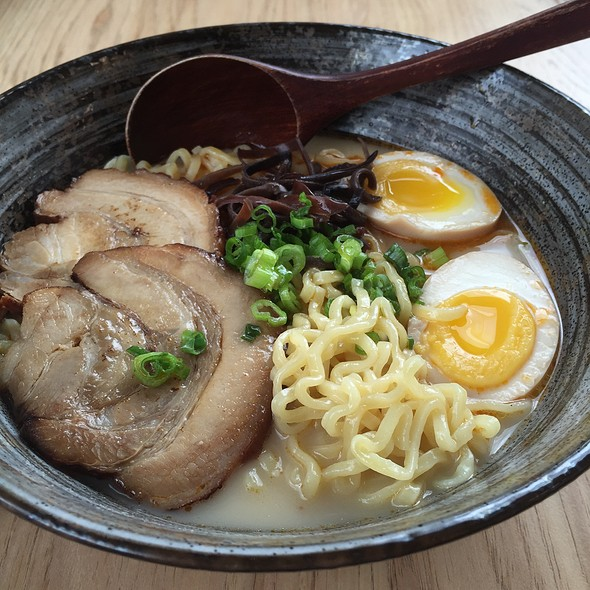 Spicy Tonkotsu Ramen @ Maru Ramen