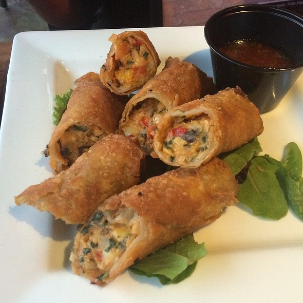 East Meets West Eggrolls @ Crimson American Grill