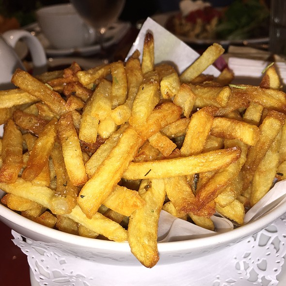 French Fries @ Nice-Matin