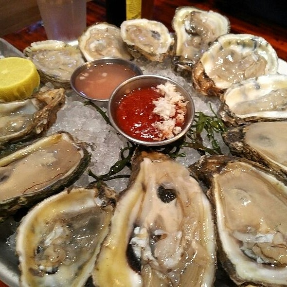 Oysters On The 1/2 Shell @ Drift Fish House And Oyster Bar
