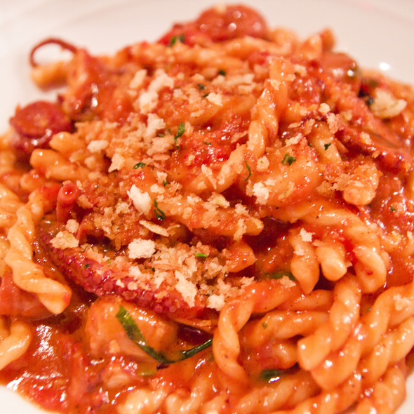 Fusilli With Baby Octopus And Bone Marrow - Marea, New York, NY