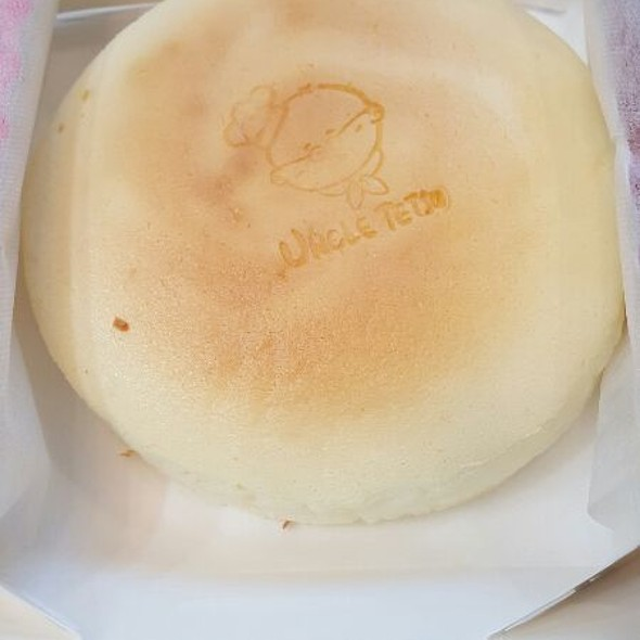 Japanese Cheesecake @ Uncle Tetsu Japanese Cheesecake