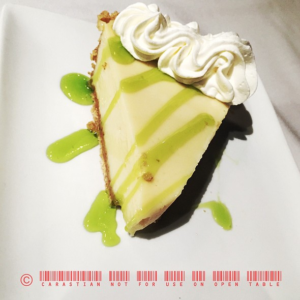 Homemade Key Lime Pie @ Florida Keys Steak And Lobster House