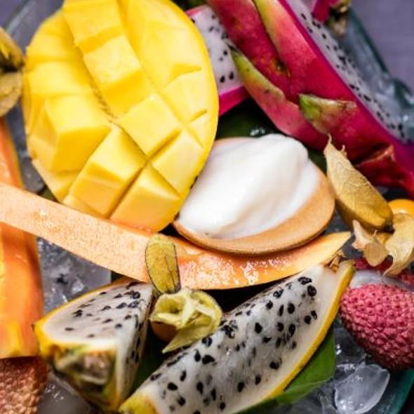 Asian Fruit Platter @ Nirvana Kitchen