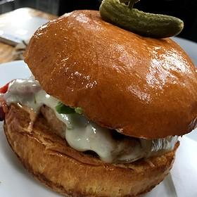 Turkey Burger - Home Restaurant - Los Feliz, Los Angeles, CA