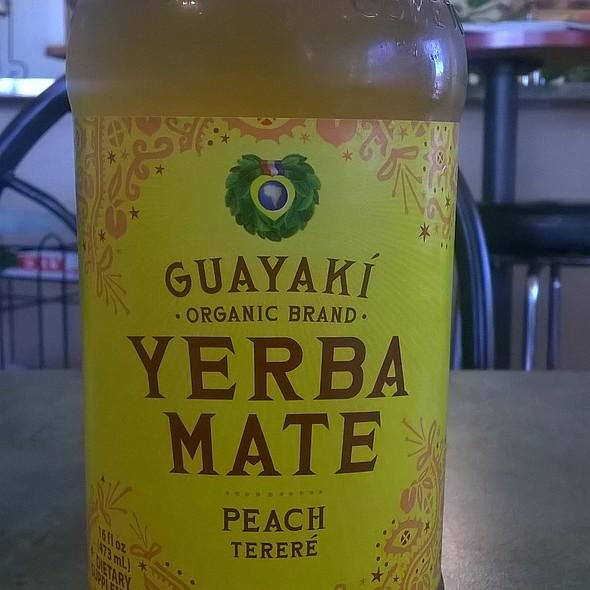 Guayaki Organic Yerba Mate @ Go Raw Cafe