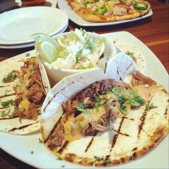 Kahlua Pork Tacos - Twigs Bistro and Martini Bar - Wandermere, Spokane, WA