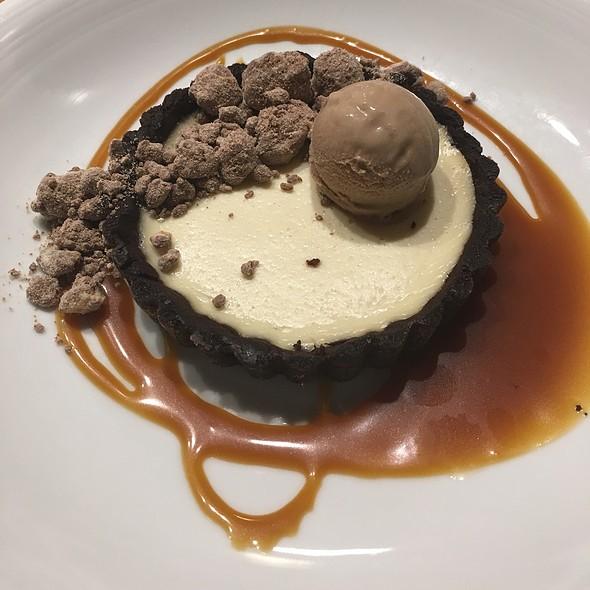 Cocoa Buttermilk Tart @ Edmund's Oast