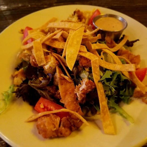 Southern fried chicken salad - Southern Hospitality - Downtown, Denver, CO