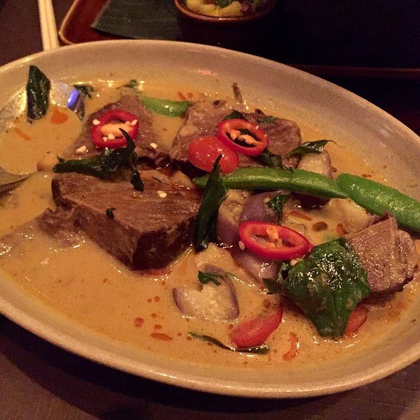 Northern Thai Curry Beef Short Rin @ RockSugar Pan Asian Kitchen