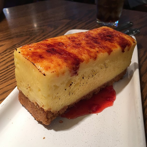 Creme Brulee Cheesecake @ Mimi's Cafe